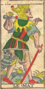 vincent beckers prend son baluchon de mat du tarot