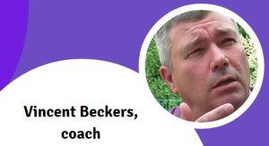 Vincent Beckers présente ses services de coach et coaching