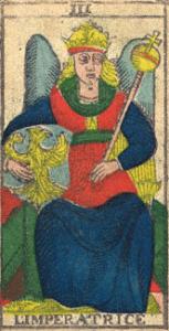 Vincent Beckers, l'impératrice du tarot