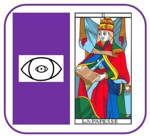 Vincent Beckers cours de tarot en ligne sur le Papesse