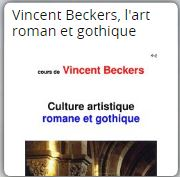 vincent beckers art roman art gothique
