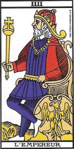 Vincent Beckers empereur tarot