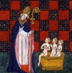 carte pape tarot saint nicolas