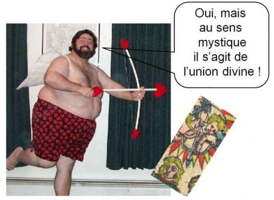 amoureux carte tarot vincent beckers flèche