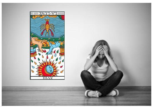 lune carte tarot vincent beckers depression