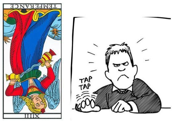 temperance carte tarot vincent beckers patience