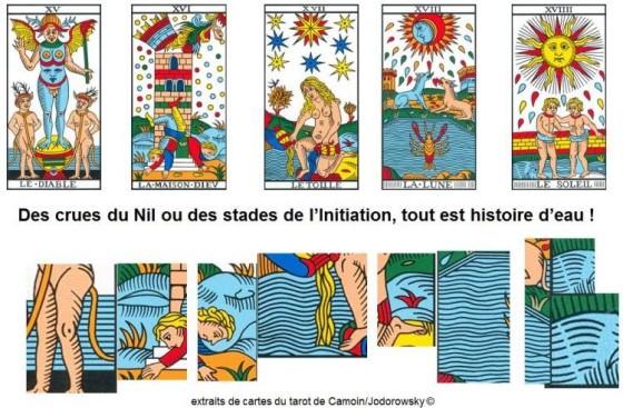 vincent beckers symbolique eau tarot