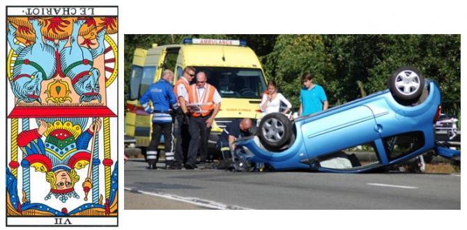 chariot carte tarot vincent beckers accident